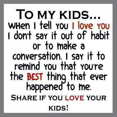 I Love All 6 Of My Children Equally Quotes For Kids Love My Kids Family Quotes