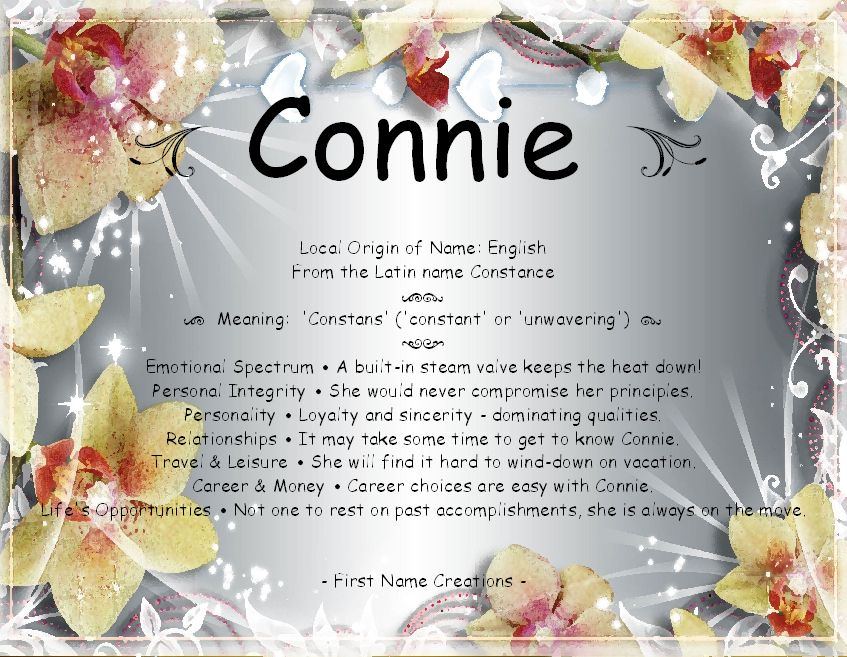 Connie First Name Creations Pinterest - fresh invitation to tender law definition