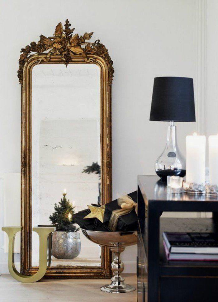 miroir mural design grande taille cool miroir design rectangle en bois saint etienne brico. Black Bedroom Furniture Sets. Home Design Ideas