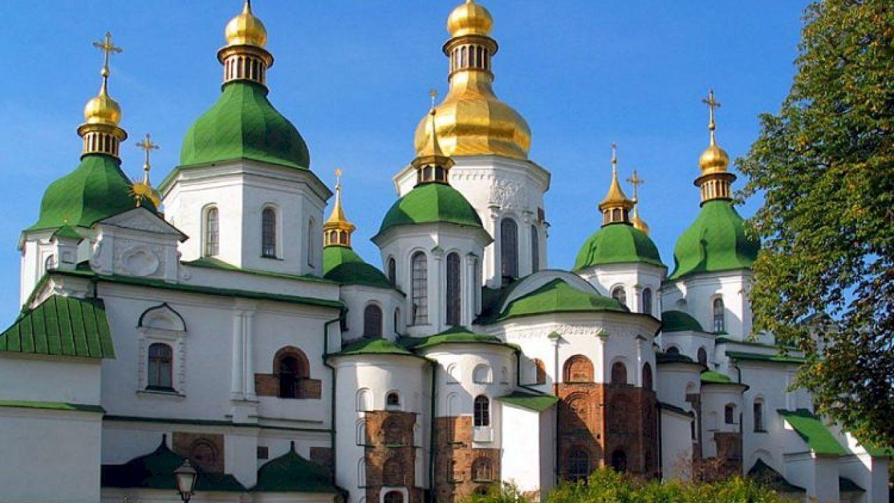 أين تقع كييف Architecture Landmark Cathedral Most Romantic Places