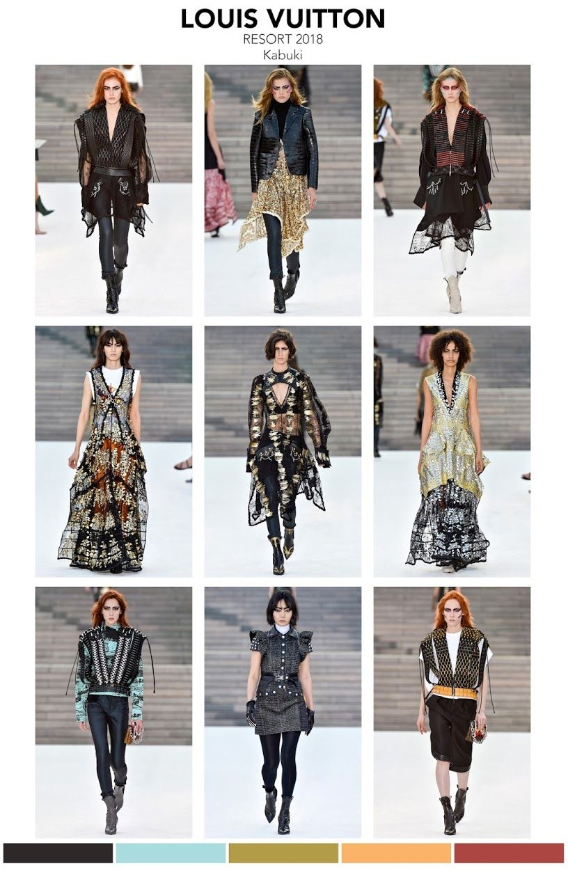 Fashion vignette runway louis vuitton resort resort