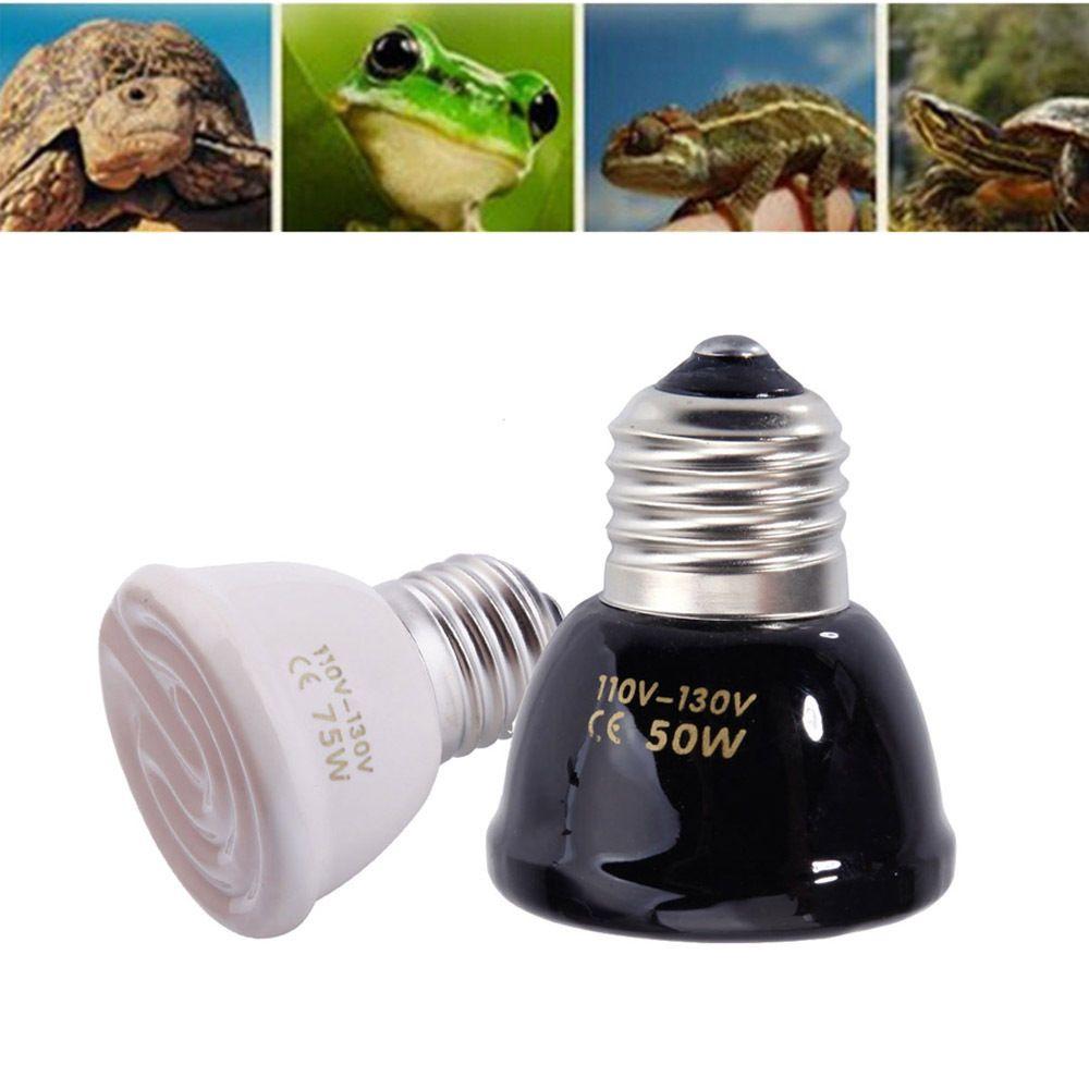 Reptile Pet Breeding Ceramic Emitter Heat Heater Mini Light Lamp Bulb 25 100w Lamp Light Lamp Bulb Reptiles Pet