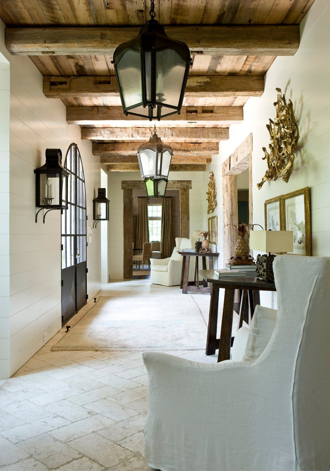 English country home interiors  Entry and Hall by Suzanne Kasler Interiors  My Style For Living