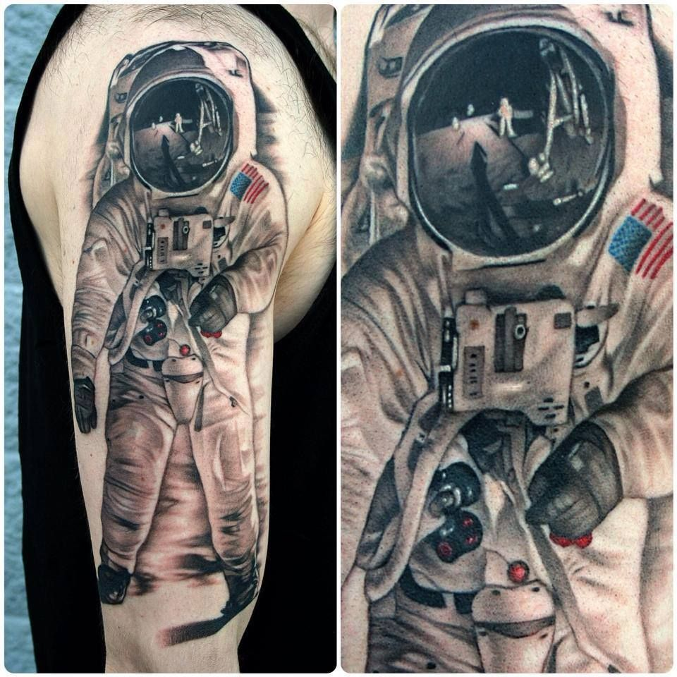 neil armstrong tattoo - photo #8
