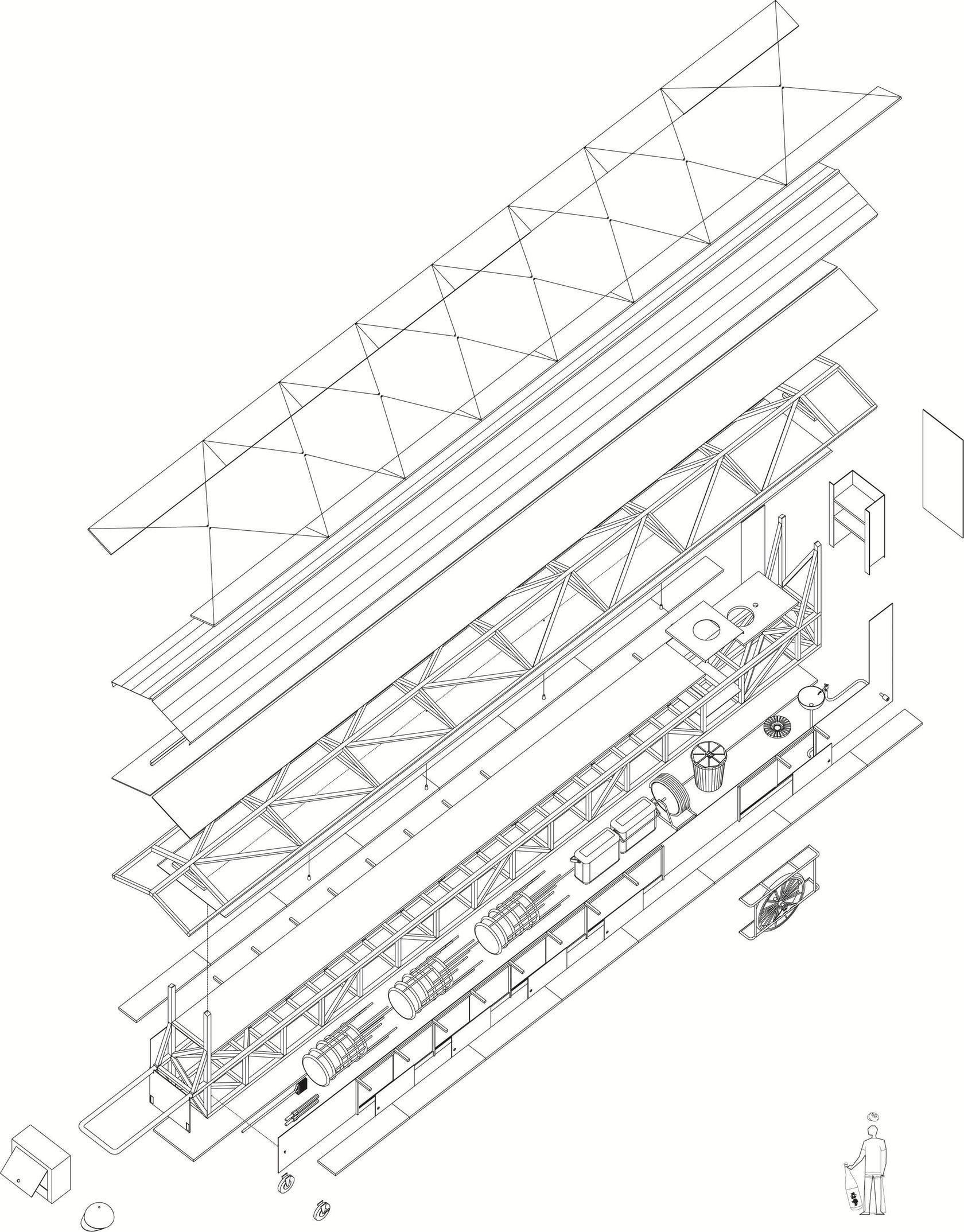 resultado de imagen para atelier bow wow white limousine yatai [ 1680 x 2147 Pixel ]