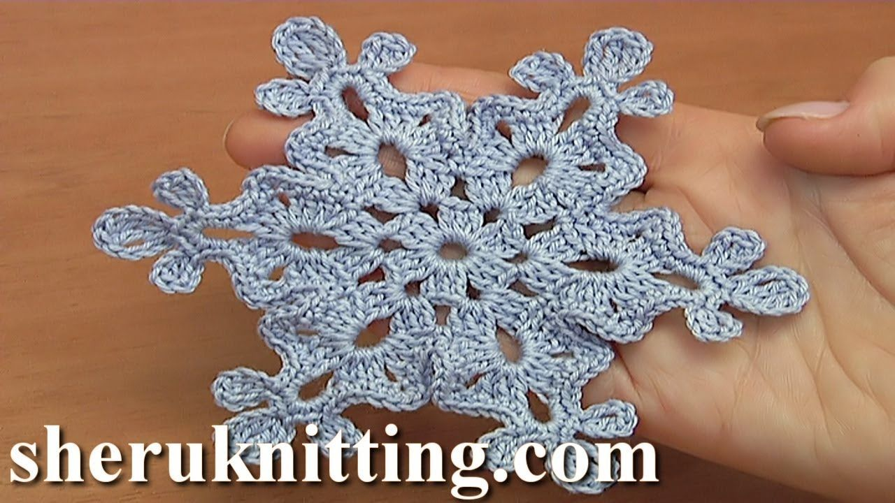 How to make a crochet snowflake tutorial 37 how to make a crochet snowflake tutorial 37 izmirmasajfo