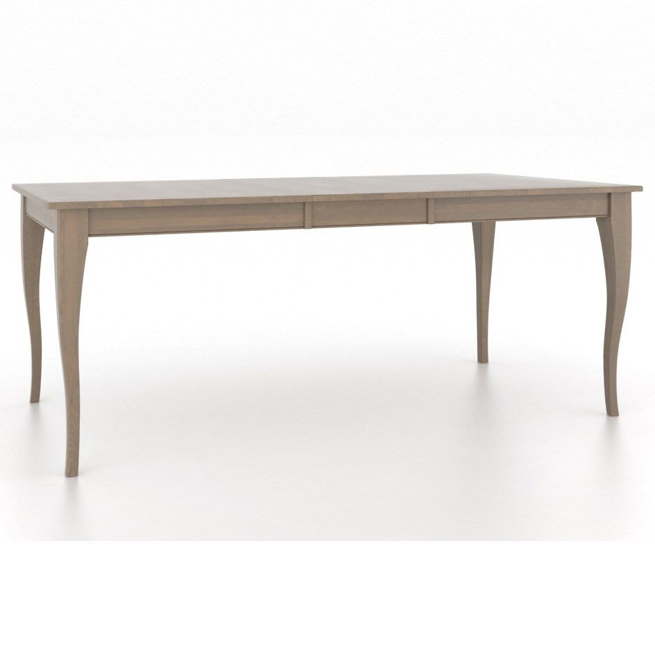 Gourmet ucbuecustomizableucbue rect table w leaf by canadel at