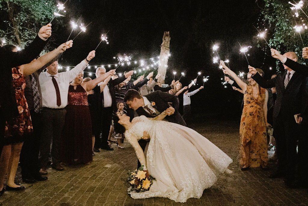 12950 East Wheeler Road Dover Fl 33527 Usa Wedding Exits Sparklers Wedding