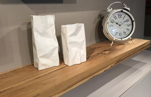 mensola in legno riciclato dalle briccole veneziane. presentata da ... - Mensole Con Legno Vecchio