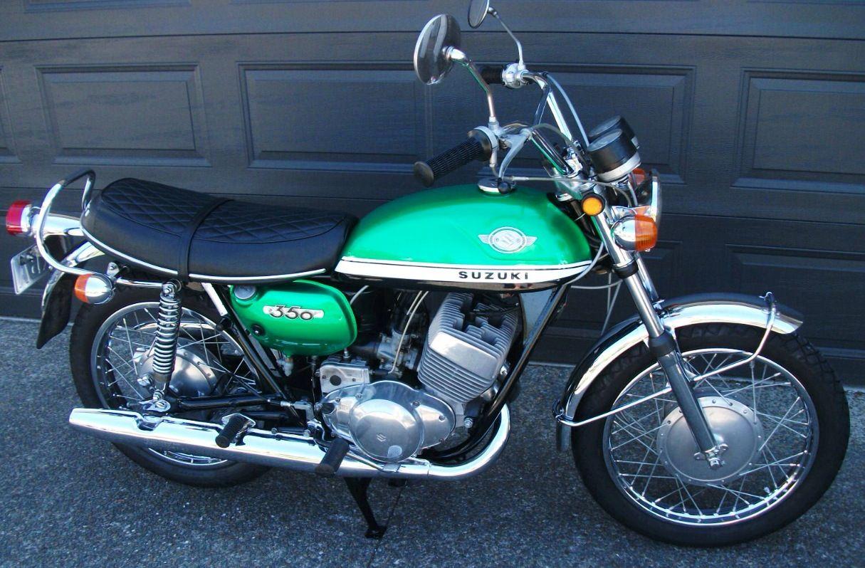 1970 Suzuki T350