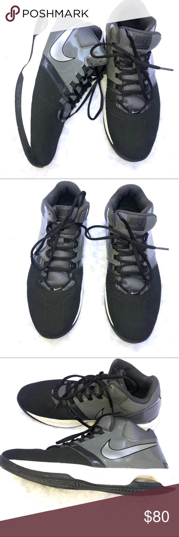 10f21c5b013 Nike Air Visi Pro V NBK Black Nubuck Basketball Nike Air Visi Pro V NBK  Mens 653664-005 Black Nubuck Basketball Shoes Size 12 Nike Shoes Athletic  Shoes