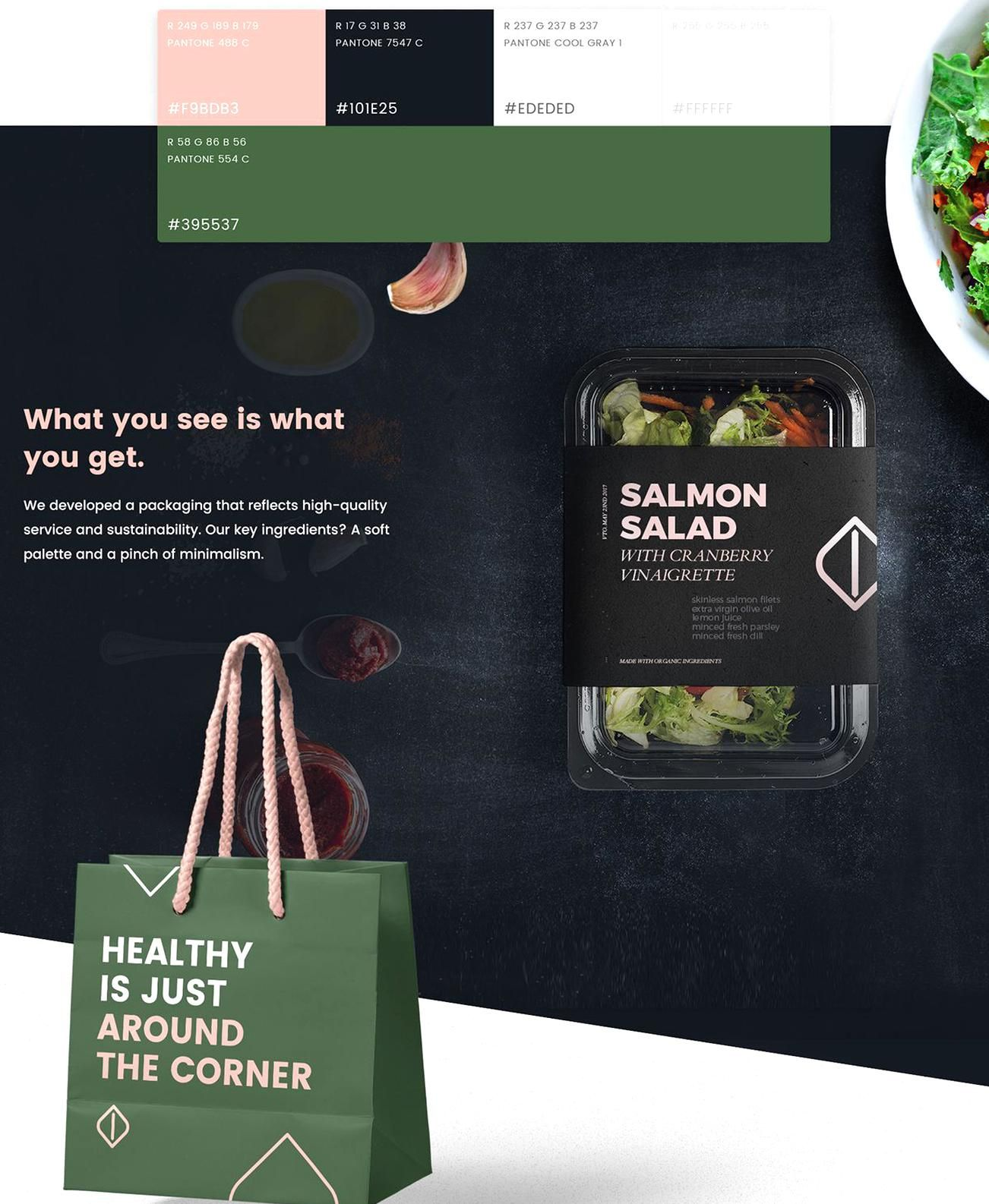 Coming From A Clean Aesthetic And The Premise Of A New Concept Of Healthy Food Store In Miami At Dhnn We Worked On Urban In 2020 Healthy Food Store Food Store Healthy