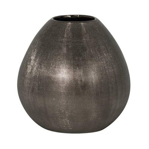 Torre & Tagus 16506 Rialto Bulb Tall Vase, Bronze