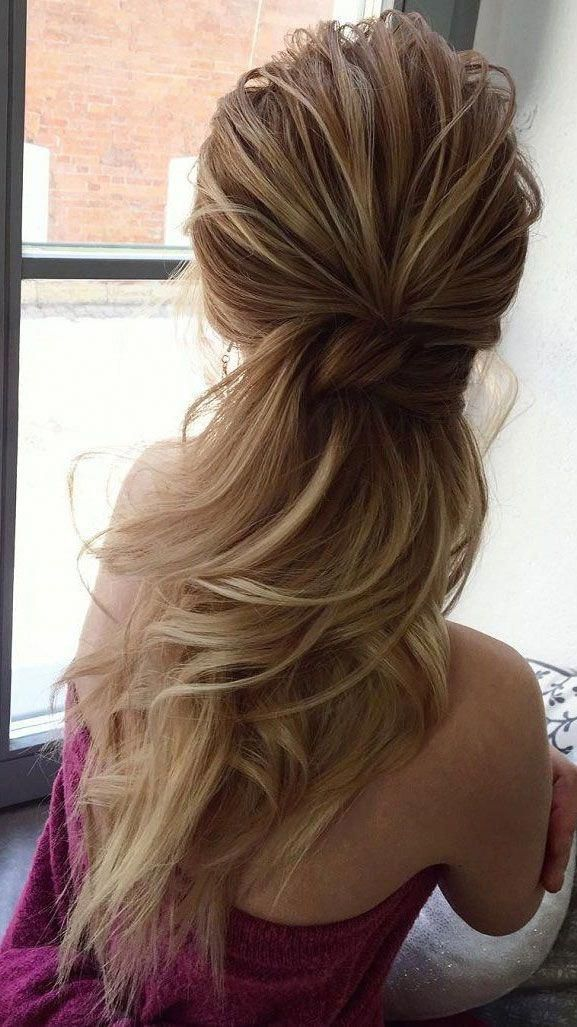 Pretty formal ponytail hairstyle for girls. # ...
