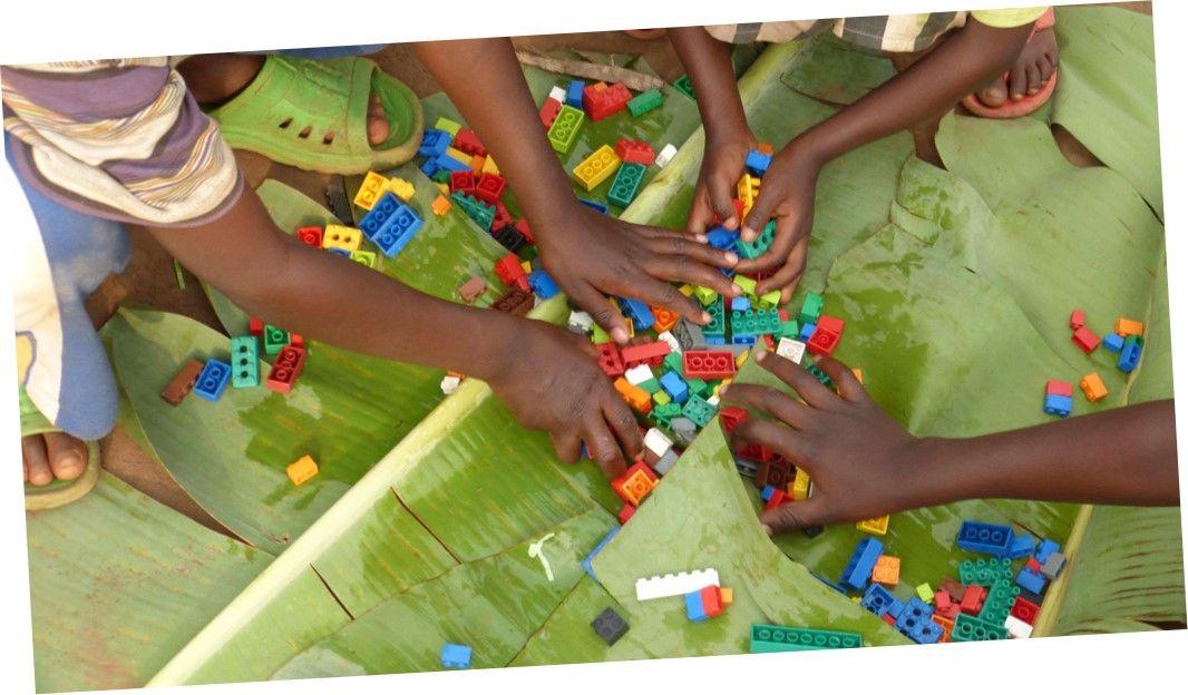 Children at teach rwandas preschool are learning to