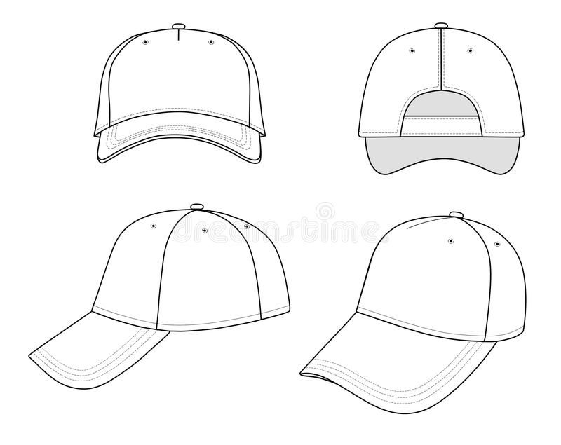 Cap Outline Cap Illustration Isolated On White Eps8 File Available You Can Ch Affiliate Illustration Isolated Cap Drawing Hat Drawing Drawing Hats