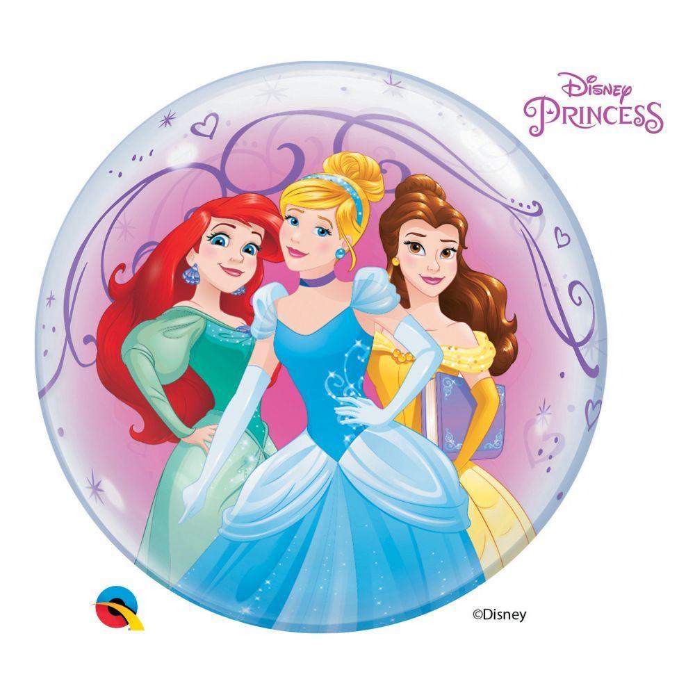 "Disney Cinderella  BALLOON 22/"" Helium Party Birthday Princess"