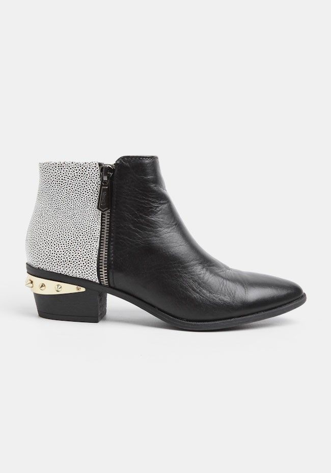 c2f37addb588a0 Holt Studded Ankle Bootie In Black By Circus By Sam Edelman