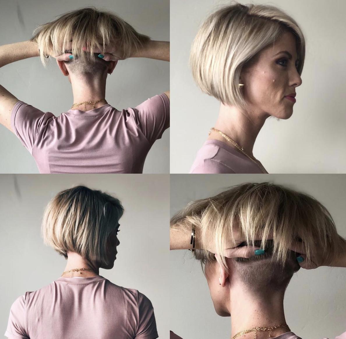Nacken frisuren undercut Undercut Frauen