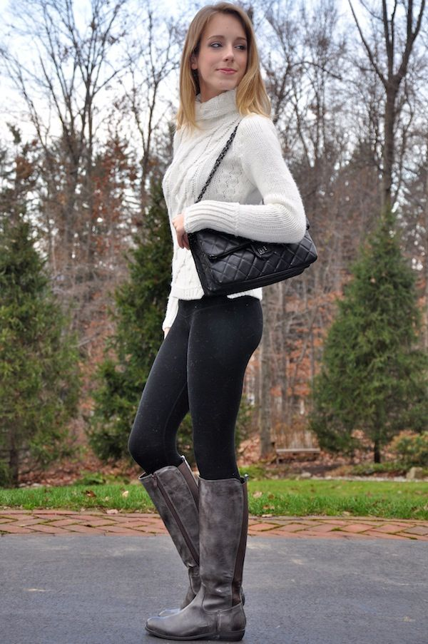 Sweaters Leggings Boots