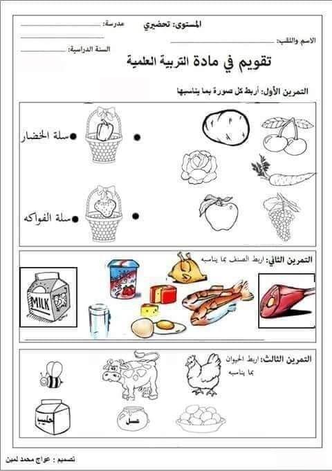 التربية العلمية للطفل Arabic Alphabet For Kids Learning Arabic Arabic Worksheets