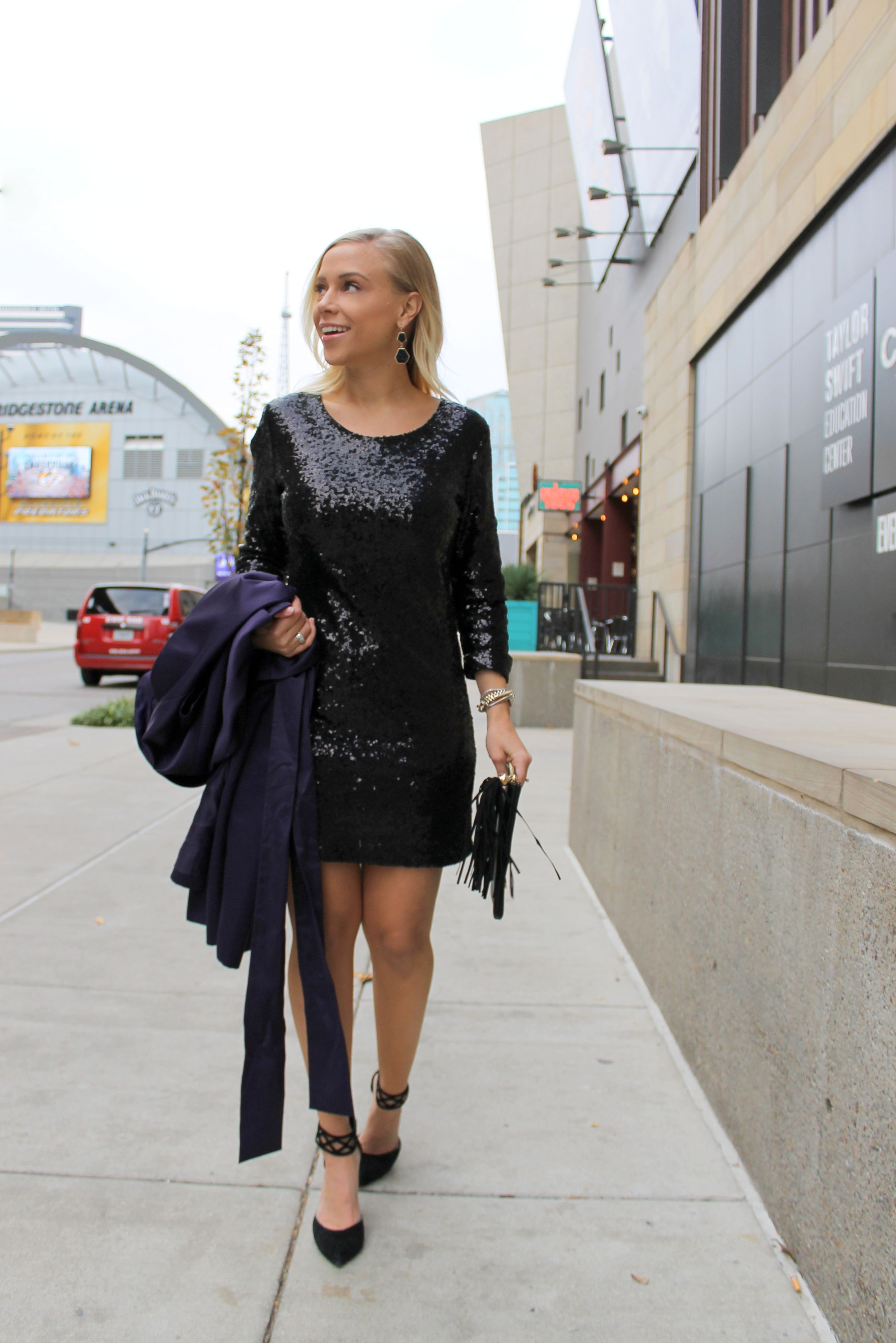 A NASHVILLE NEW YEAR Blogger style winter, Clutch outfit