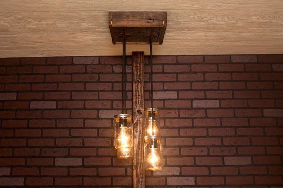 Mason jar chandelier with reclaimed wood and 4 pendants r 1212 cmj mason jar chandelier with reclaimed wood and 4 pendants r 1212 cmj aloadofball Choice Image