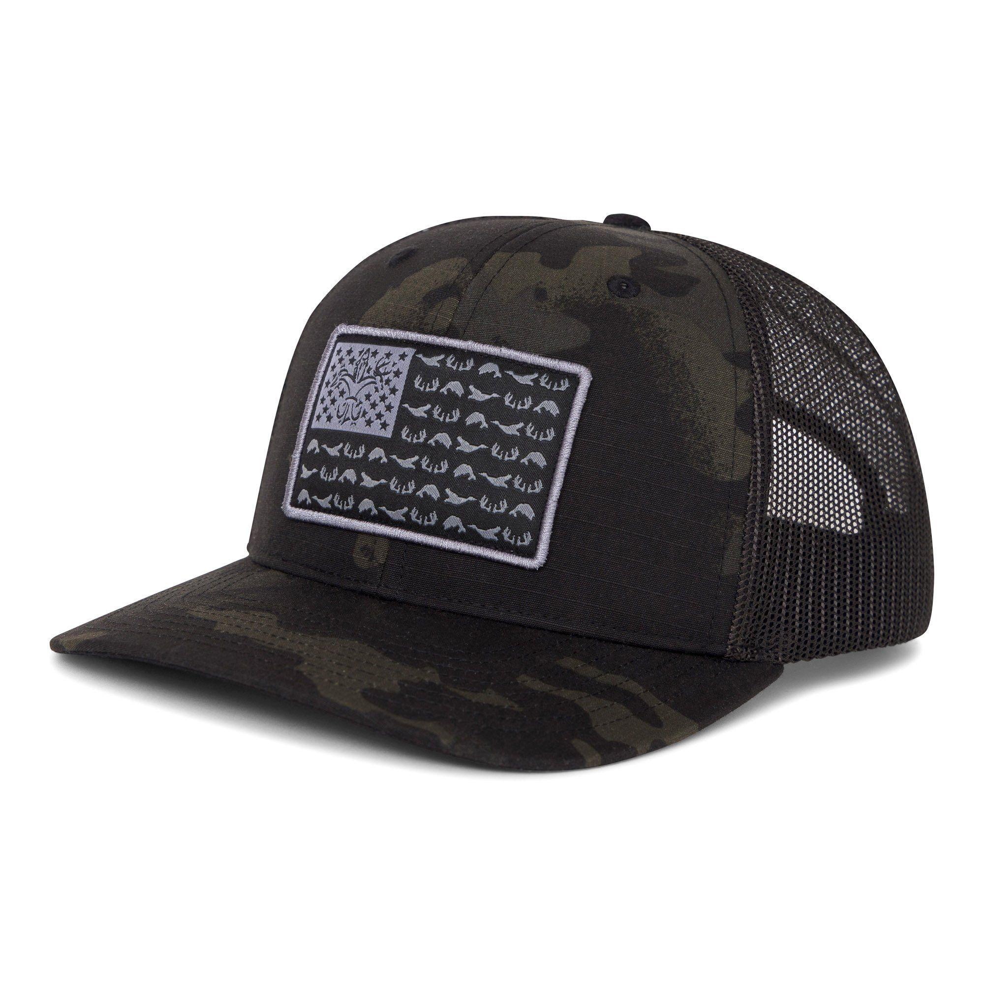68cca98b6 American Sportsman Mesh Back Hat MultiCam Black / Black in 2019 ...