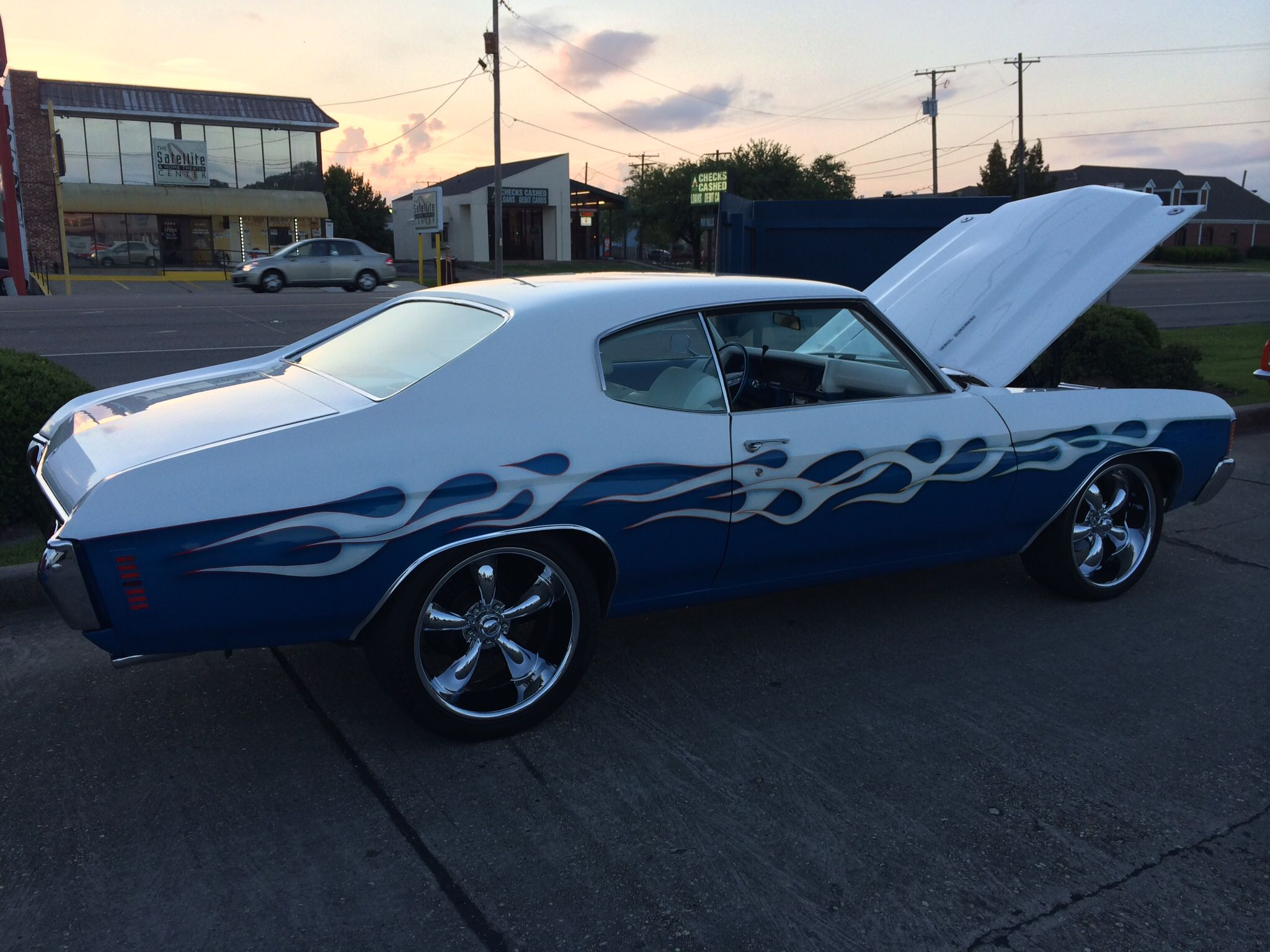 Nice flames in Kenner Louisiana Cool Cars Pinterest