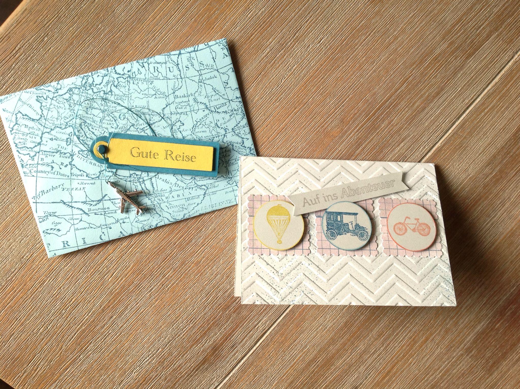 gutschein reise papier stampin 39 up cards pinterest reisen gutscheine und reisegutschein. Black Bedroom Furniture Sets. Home Design Ideas