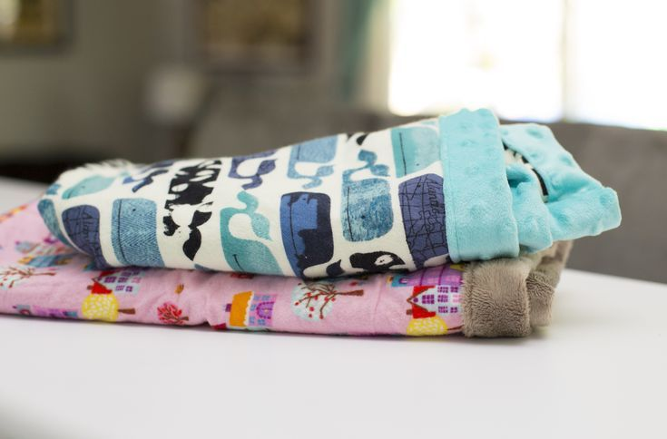 Baby Shower Gifts Under 15 ~ Sew a baby blanket in under 15 minutes start to finish. makes the