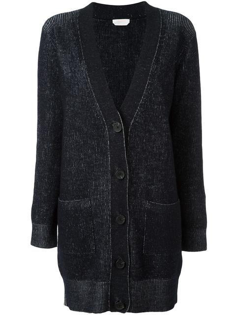 SEE BY CHLOÉ ribbed cardigan. #seebychloé #cloth #cardigan