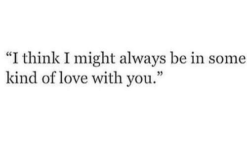I think....