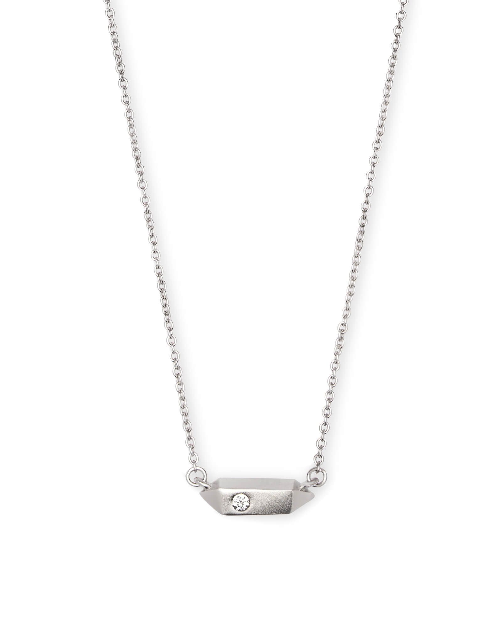 Charly silver pendant necklace at kendra scott get
