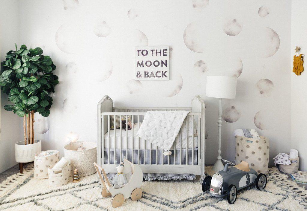 Luna Wallpaper Renovation Recommendations Baby Nursery