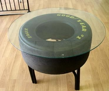 They make it cause we buy it The tire coffee table Room Men