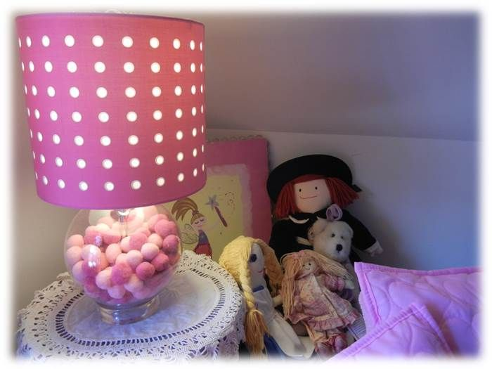 fairy lights and colored tulle ideas - Google Search