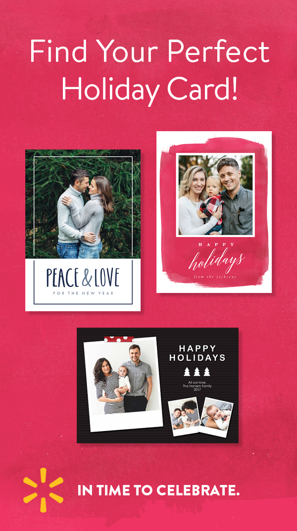 save big on holiday cards at walmart design premium quality cards today and check out