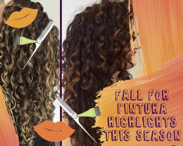 Pintura Highlights The Color Method For Curly Hair Curly Hair