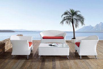 Nerine outdoor sofa set modern outdoor sofas other metro