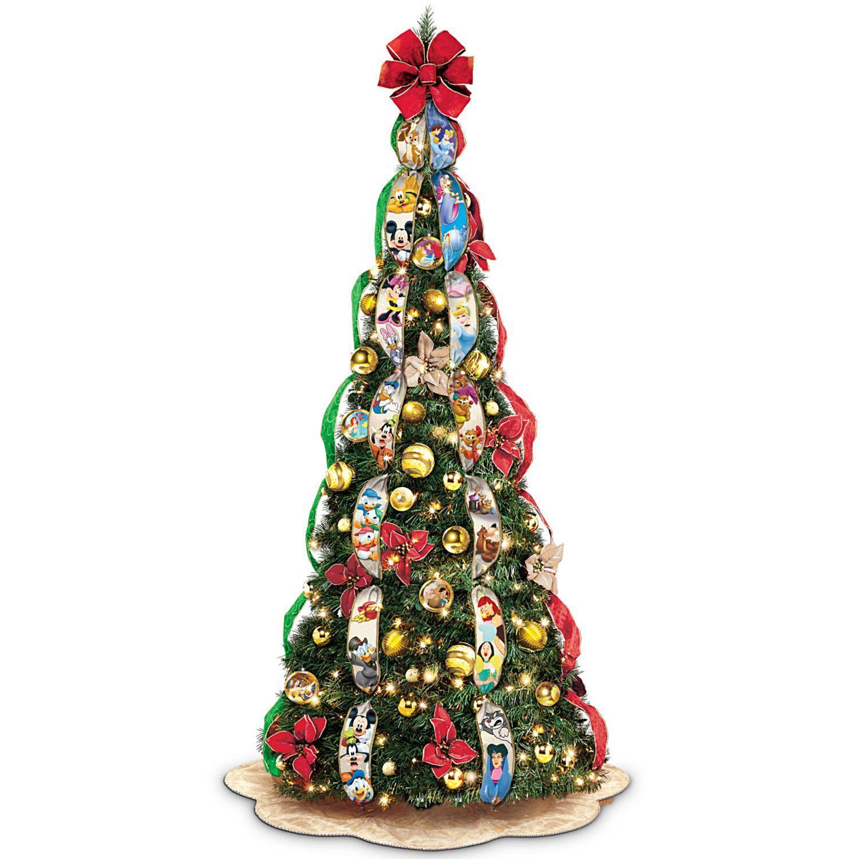 Ultimate Disney Wondrous Christmas Pre Lit Pull Up Christmas Tree Pull Up Christmas Tree Pre Lit Christmas Tree Disney Christmas Tree