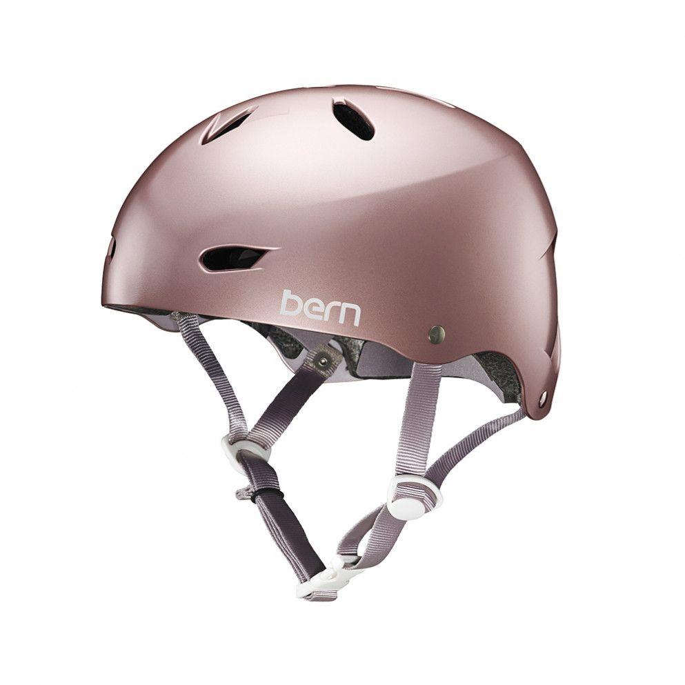 Bern Brighton Ladies Bike Helmet Rose Gold Cyclechic Mountain Bike Helmets Bike Helmet Womens Bike
