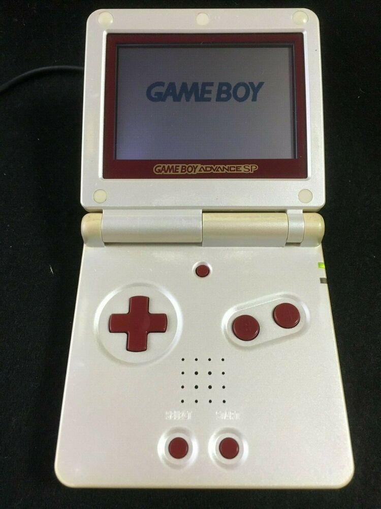 Rare Nintendo Gba Game Boy Advance Sp Famicom Color Console F S Japan Gameboy Nintendo Gameboy Game Boy Advance Sp Retro Games Console