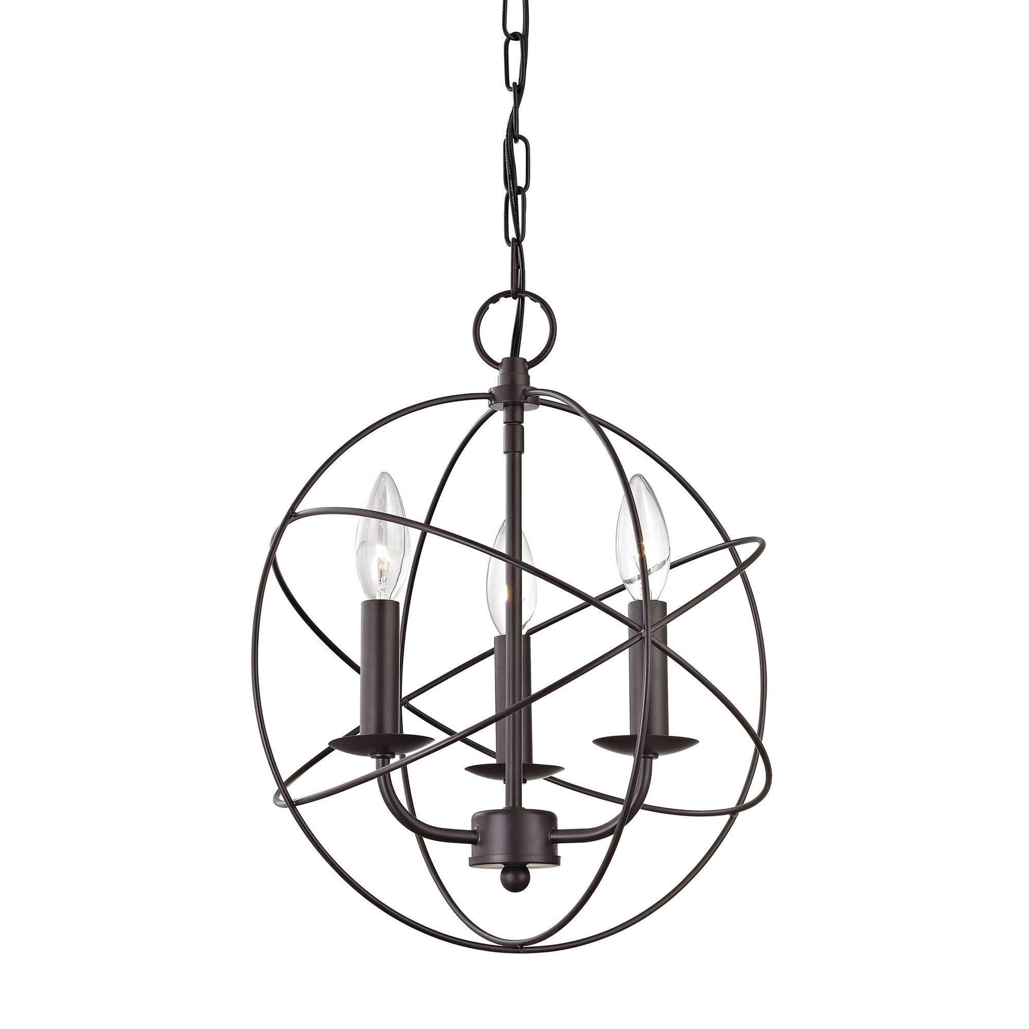 Williamsport 3 Light Mini Chandelier