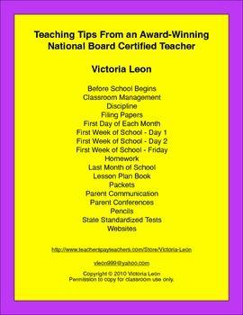 Teaching Tips From an Award-Winning National Board Certified Teacher