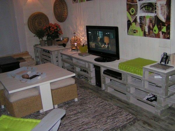 Id es co deco avec r cuperation de palettes de bois recyclage direct id e - Association de recuperation meubles gratuit ...
