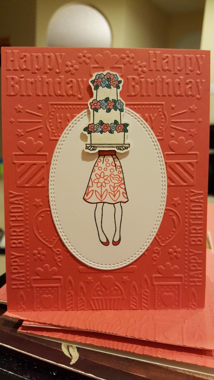 Stampin Up Hand Delivered Cool Birthday Cards Stampin Up Cards Birthday Cards For Women