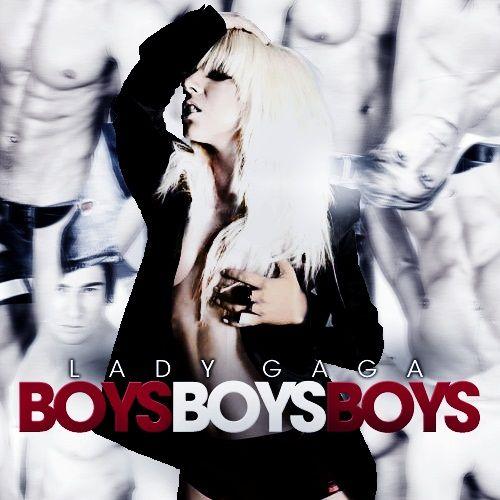 Lady Gaga – Boys Boys Boys (single cover art)