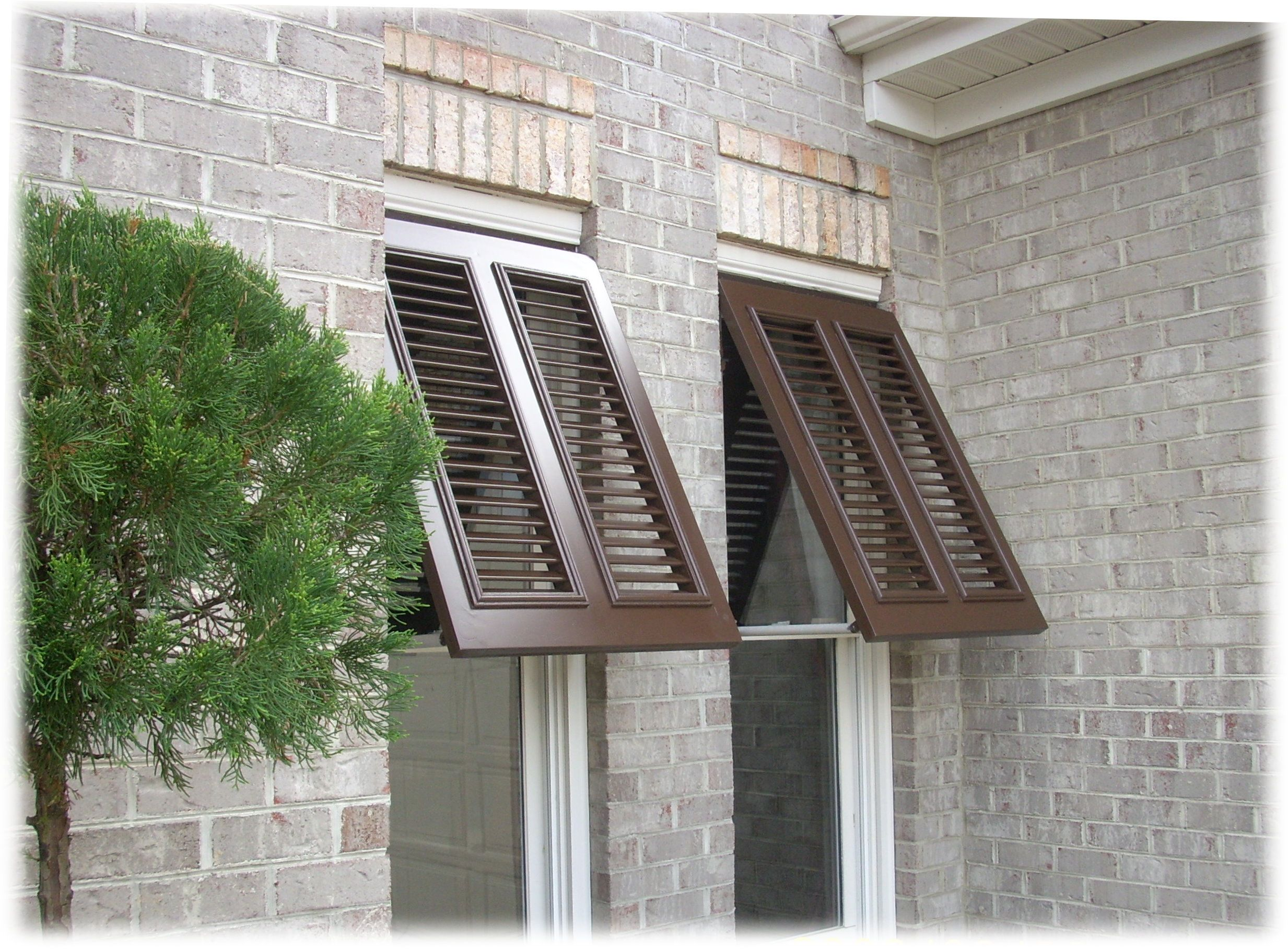 Window Shutters At Lowes Bahama Exterior