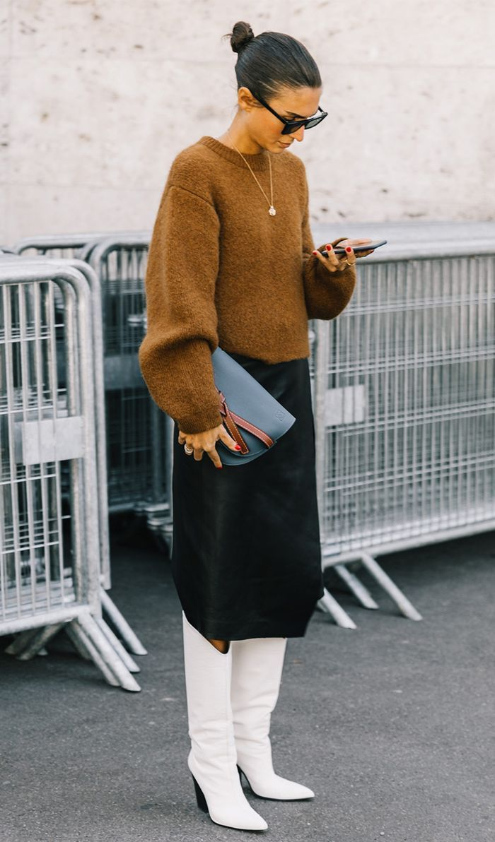 7 Outfits That Will Make All Your Old Sweaters Feel Brand New